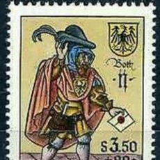 Sellos: AUSTRIA, N°1087 MNH, DÍA DEL SELLO (FOTOGRAFÍA REAL). Lote 218355106