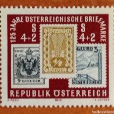 Sellos: AUSTRIA, N°1333 DÍA DEL SELLO 1975 (FOTOGRAFÍA REAL). Lote 218357721