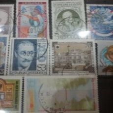 Sellos: SELLOS AUSTRIA (OSTERREICH) MTDOS/1982/LOTE 10 SELLOS DE AUSTRIA/PERSONAJES/FAMOSOS/ARTE/GENTE/HISTO. Lote 218689278