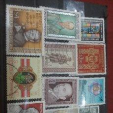 Sellos: SELLOS AUSTRIA (OSTERREICH) MTDOS/1984/LOTE 11 SELLOS DE AUSTRIA/PERSONAJES/FAMOSOS/ARTE/GENTE/HISTO. Lote 218717586