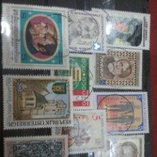Sellos: SELLOS AUSTRIA (OSTERREICH) MTDOS/1987/LOTE 10 SELLOS DE AUSTRIA/PERSONAJES/FAMOSOS/ARTE/GENTE/HISTO. Lote 218721271