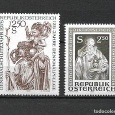 Sellos: AUSTRIA 1975 Y 1980 NUEVO ** - 17/36. Lote 219001995