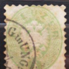 Sellos: AUSTRIA N°28 USADO, AGUILA BICEFALA 1863 (FOTOGRAFÍA REAL). Lote 220506278