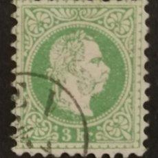 Sellos: AUSTRIA, 3KR.AÑO 1867 USADO (FOTOGRAFÍA REAL). Lote 220508938