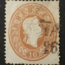 Sellos: AUSTRIA, AÑO 1860 USADO (FOTOGRAFÍA REAL). Lote 220510218