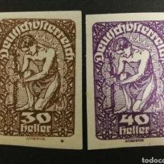 Sellos: AUSTRIA, AÑO 1920 MH* (FOTOGRAFÍA REAL). Lote 220517327