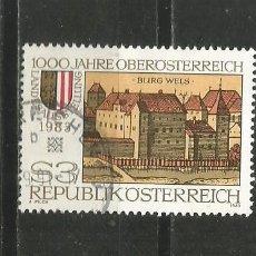 Sellos: AUSTRIA YVERT NUM. 1565 USADO. Lote 221787066