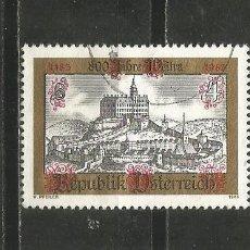 Sellos: AUSTRIA YVERT NUM. 1569 USADO. Lote 221787173