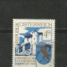 Sellos: AUSTRIA YVERT NUM. 1570 USADO. Lote 221787496