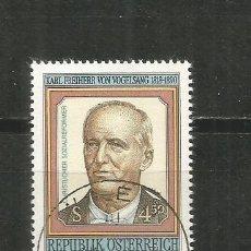 Sellos: AUSTRIA YVERT NUM. 1837 USADO. Lote 221864767