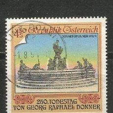 Sellos: AUSTRIA YVERT NUM. 1846 USADO. Lote 221864996