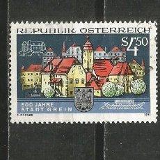 Sellos: AUSTRIA YVERT NUM. 1857 USADO. Lote 221865105