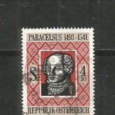 Sellos: AUSTRIA YVERT NUM. 1868 USADO. Lote 221865627
