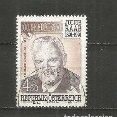 Sellos: AUSTRIA YVERT NUM. 1875 USADO. Lote 221865733