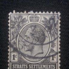 Sellos: GRAN BRETAÑA, 1C, EDUARDO VII, STRAITS SETTLEMENTS, AÑO 1906.. Lote 222706255