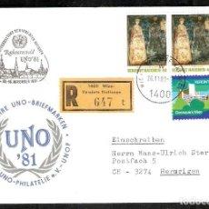 Sellos: AUSTRIA. SPD. NATIONS UNIES. NACIONES UNIDAS. ONU. Lote 222866531