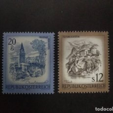 Sellos: AUSTRIA AÑO 1980. SERIE COMPLETA MNH. YT:AT 1478,YT:AT 1479,. Lote 222879183