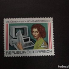 Sellos: AUSTRIA AÑO 1987. SERIE COMPLETA MNH. YT:AT 1731,. Lote 222937050