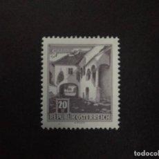 Sellos: AUSTRIA AÑO 1961. MNH. FARMHOUSE, MÖRBISCH. Lote 222942452