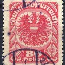Francobolli: AUSTRIA 1920-21 - ESCUDO DE ARMAS - USADO. Lote 226005840