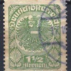Francobolli: AUSTRIA 1920-21 - ESCUDO DE ARMAS - USADO. Lote 226006095
