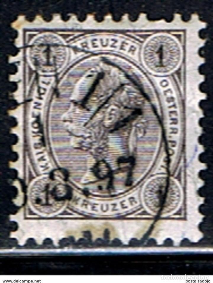AUSTRIA // YVERT 46 // 1890-96 ... USADO (Sellos - Extranjero - Europa - Austria)