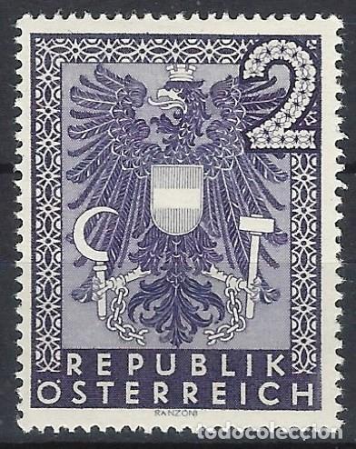 AUSTRIA 1945 - GOBIERNO DE RENNER, 2 MK. - MH* (Sellos - Extranjero - Europa - Austria)