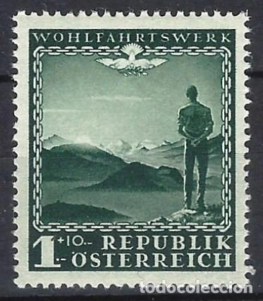 AUSTRIA 1945 - SELLO DE CARIDAD - MH* (Sellos - Extranjero - Europa - Austria)
