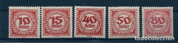 AUSTRIA - DEUTSCH OESTERREICH - LOTE DE 1919 - MNH - COMBINE ARTÍCULOS Y AHORRE EN GASTOS (Sellos - Extranjero - Europa - Austria)