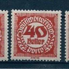 Sellos: AUSTRIA - DEUTSCH OESTERREICH - LOTE DE 1919 - MNH - COMBINE ARTÍCULOS Y AHORRE EN GASTOS. Lote 230439365