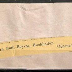 Sellos: AUSTRIA.1914. BANDA PERIÓDICO.. Lote 231449205