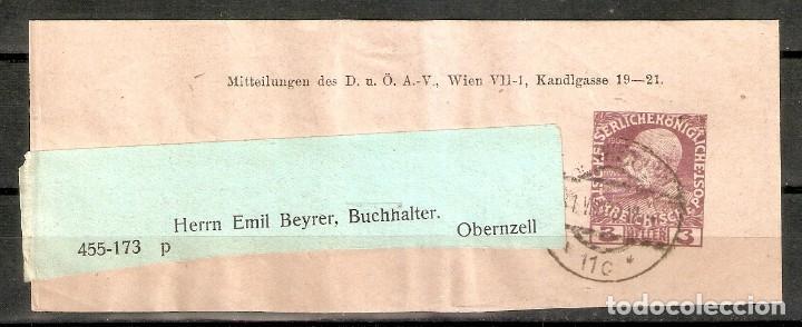 AUSTRIA.1909. BANDA PERIÓDICO. (Sellos - Extranjero - Europa - Austria)