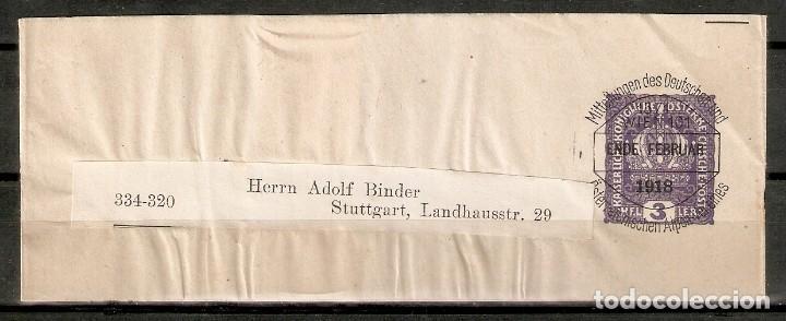 AUSTRIA.1918. BANDA PERIÓDICO. (Sellos - Extranjero - Europa - Austria)