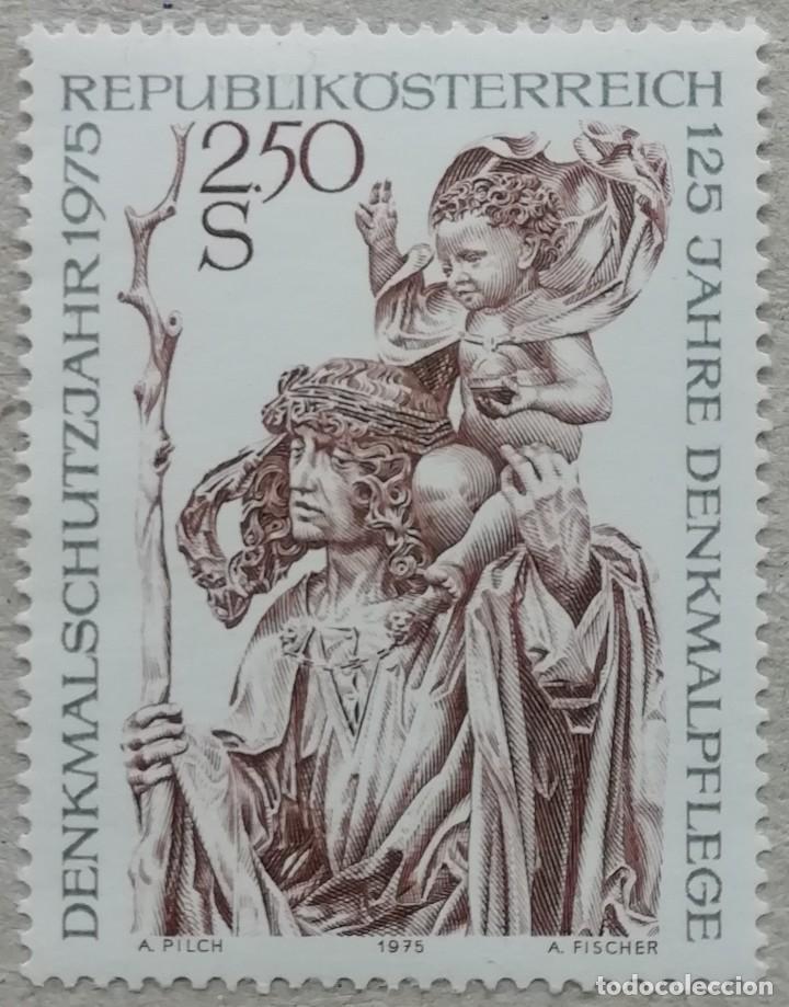 1975. AUSTRIA. 1307. PROTECCIÓN Y RESTAURACIÓN DE MONUMENTOS EN AUSTRIA. SERIE COMPLETA. NUEVO. (Sellos - Extranjero - Europa - Austria)