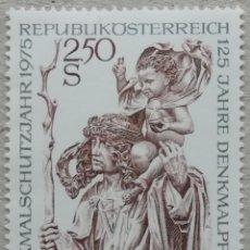 Sellos: 1975. AUSTRIA. 1307. PROTECCIÓN Y RESTAURACIÓN DE MONUMENTOS EN AUSTRIA. SERIE COMPLETA. NUEVO.. Lote 233296985