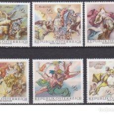 Sellos: LOTE DE SELLOS NUEVOS - AUSTRIA - PINTORES - ARTE - AHORRA GASTOS COMPRA MAS SELLOS. Lote 233394750