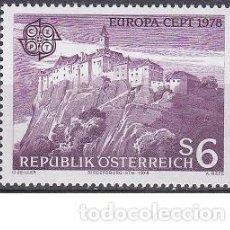 Sellos: LOTE DE SELLOS NUEVOS - AUSTRIA 1978 - EUROPA - AHORRA GASTOS COMPRA MAS SELLOS. Lote 233604095