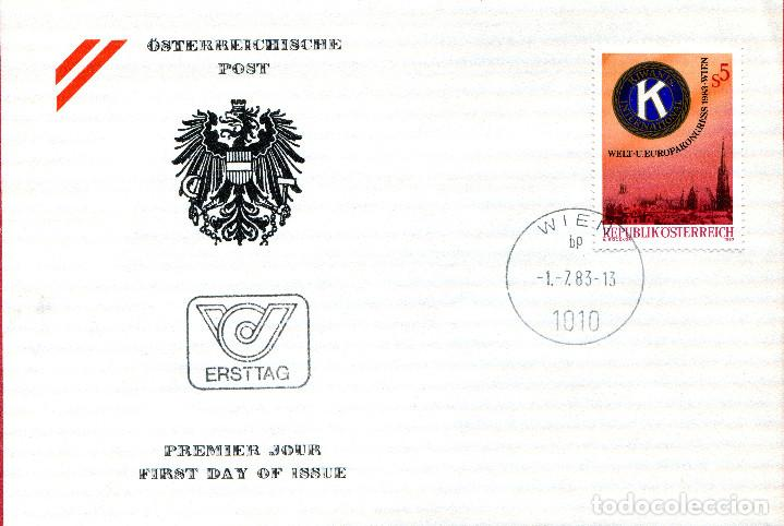 AUSTRIA, ,CARTA, ,1983 , MICHEL 1744 , FDC (Sellos - Extranjero - Europa - Austria)