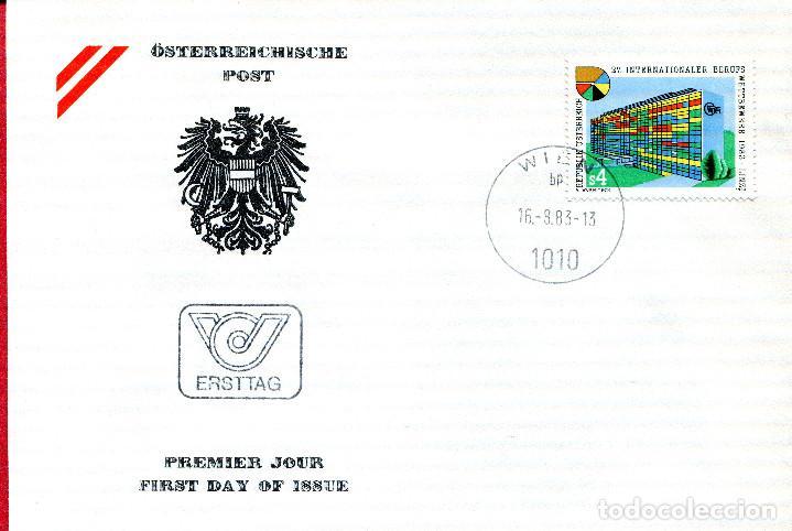 AUSTRIA, ,CARTA, ,1983 , MICHEL 1747 , FDC (Sellos - Extranjero - Europa - Austria)