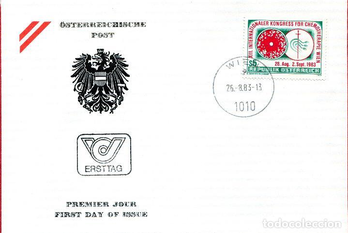 AUSTRIA, ,CARTA, ,1983 , MICHEL 1748 , FDC (Sellos - Extranjero - Europa - Austria)