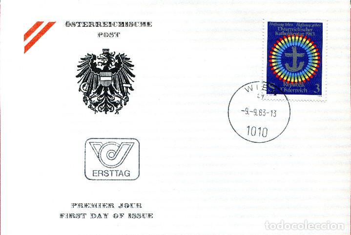 AUSTRIA, ,CARTA, ,1983 , MICHEL 1751 , FDC (Sellos - Extranjero - Europa - Austria)