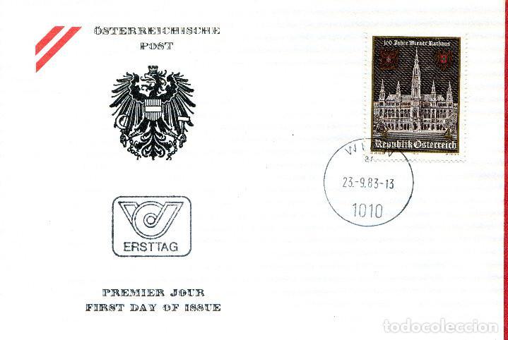 AUSTRIA, ,CARTA, ,1983 , MICHEL 1752 , FDC (Sellos - Extranjero - Europa - Austria)