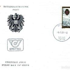 Sellos: AUSTRIA, ,CARTA, ,1984 , MICHEL 1771 , FDC. Lote 234945025