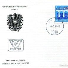 Sellos: AUSTRIA, ,CARTA, ,1984 , MICHEL 1772 , FDC. Lote 234945120
