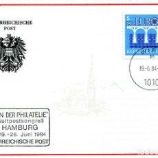 Sellos: AUSTRIA, ,CARTA, ,1984 , MICHEL 1772 , FDC. Lote 234945195