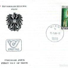 Sellos: AUSTRIA, ,CARTA, ,1984 , MICHEL 1774 , FDC. Lote 234945425