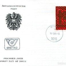 Sellos: AUSTRIA, ,CARTA, ,1984 , MICHEL 1775 , FDC. Lote 234945470