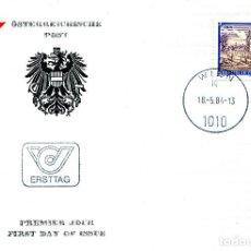 Sellos: AUSTRIA, ,CARTA, ,1984 , MICHEL 1776 , FDC. Lote 234945560