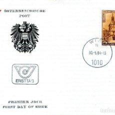 Sellos: AUSTRIA, ,CARTA, ,1984 , MICHEL 1777 , FDC. Lote 234945705
