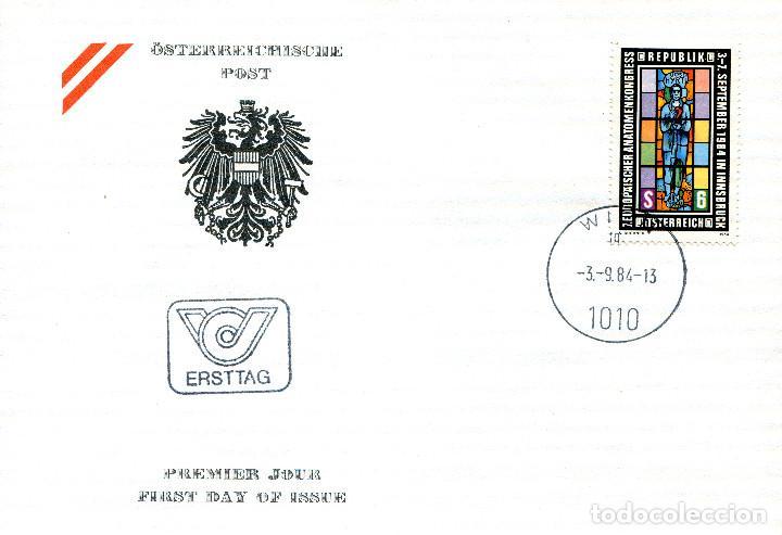 AUSTRIA, ,CARTA, ,1984 , MICHEL 1790 , FDC (Sellos - Extranjero - Europa - Austria)